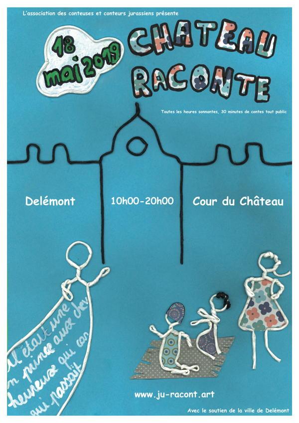 Affiche de Château raconte